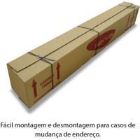 Cama Box Casal Queen Size Eurocama Desmontável Bege 158X198X28 Herval