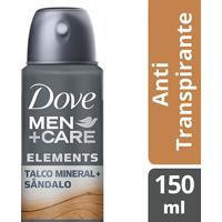 Desodorante Dove Men + Care Aerosol Antitranspirante Talco Mineral E Sândalo 150Ml - Masculino