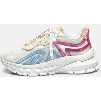 Sneaker Smidt S3 - Branco, Ciel & Pink