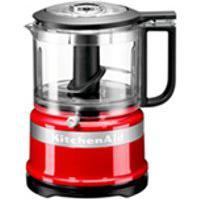 Miniprocessador De Alimentos Kitchenaid Empire Red Com 02 Velocidades,Capacidade De 0,8 Litros-Kja03Bv