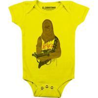Chewbacca Headbanger - Body Infantil