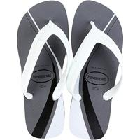 Chinelo Havaianas Top Max Basic - Masculino-Cinza