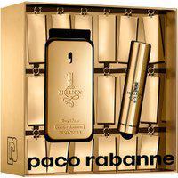 Kit Paco Rabanne 1 Million Masculino Eau De Toilette 50Ml + Travel Spray 10Ml Único