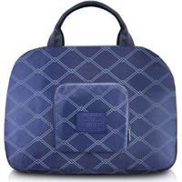 Bolsa De Viagem Jacki Design Dobrável Estampado - Unissex-Azul