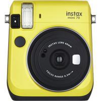 Câmera Fujifilm Instax Mini 70 Amarela - Unissex