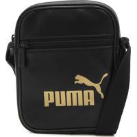 Bolsa Puma Core Up Portable Preta