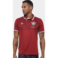 Camisa Polo Fluminense Dryworld Viagem Ct Masculina - Masculino