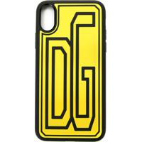 Dolce & Gabbana Case Para Iphone Xs - Amarelo