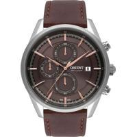 Relógio Orient Cronógrafo Masculino - Mbscc053 N1Nx