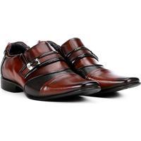Sapato Social Couro Rafarillo Revolution Masculino - Masculino-Marrom