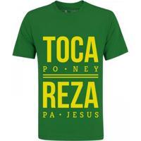 Camiseta Zé Carretilha Brasil Toca Masculina - Masculino
