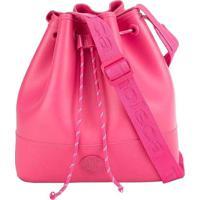 Bolsa Saco Moleca Alça Transversal Pink Pink