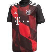 Camisa Masculina Adidas Bayern Iii Preto/Vermelho - P
