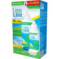 Kit Solução Estéril Para Lentes De Contato Limp Lent 470Ml