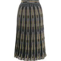 M Missoni Intarsia Knit Skirt - Cinza