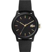 Relógio Lacoste Feminino Borracha Preta - 2001064