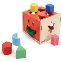 Encaixa Na Caixa - Lume - Brinquedo De Madeira Educativo