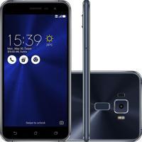 """Smartphone Asus Zenfone 3 5.2"""" 32Gb Ze520Kl Desbloqueado Preto"""