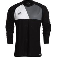 bfb8e4e4ff Netshoes  Camisa De Goleiro Adidas Assista 17 Masculina - Masculino