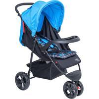 Carrinho Urban- Azul & Preto- 101X57X92Cm- Baby Baby Style