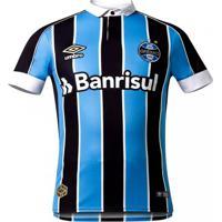 Camisa Masculina Umbro Grêmio Oficial 1 2019 Classic Fan
