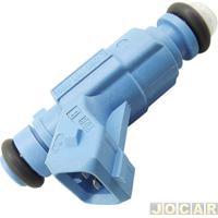 Bico Injetor - Bosch - Ka 1.0 1999 Até 2007 - Fiesta 1.0 1999 Até 2006 - Motor Rocam - Azul - Cada (Unidade) - 0280155888