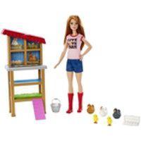 Boneca Barbie Quero Ser - Criadora De Galinhas - Mattel