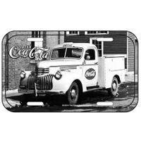 Placa De Metal Coca Cola Caminhão Vintage
