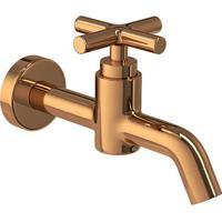 Torneira Para Banheiro Parede Duna Clássica Red Gold - 1174.Gl64.Rd - Deca - Deca