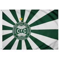 Bandeira Oficial Do Coritiba 128 X 90 Cm - 2 Panos - Unissex