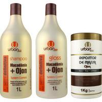 Escova Progressiva Semi Definitiva Botox Repositor De Massa - Urban Eco