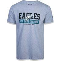 Camiseta New Era Nfl Philadelphia Eagles Essentials Division Masculina - Masculino