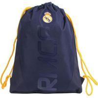 Bolsa Saco Com Alças Do Real Madrid Gymbag - Unissex