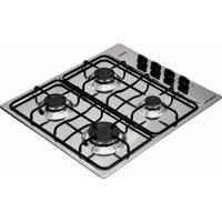 Cooktop Em Aço Inox Com 4 Queimadores - Standard - Cor Inox - Tramontina