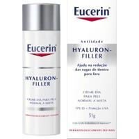 Creme Anti-Idade Facial Eucerin Hyaluron-Filler Dia Fps 15 51G - Unissex