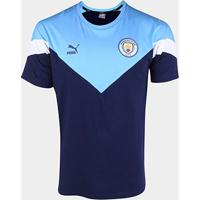 Camiseta Manchester City Puma Masculina - Masculino-Marinho