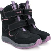 Geox Kids Bota Com Velcro - Preto