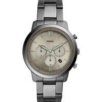 Relógio Cronógrafo Fossil Masculino - Fs5492/1Fn Grafite