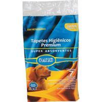 Tapete Higiênico Chalesco Pacote Com 7 Unid. Com 90X60Cm