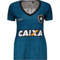 7344f4ca74 ... Camisa Topper Botafogo Treino Atleta 2017 Feminina - Feminino