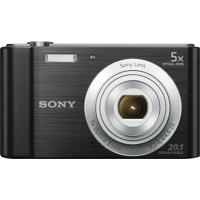 Câmera Digital Sony Cyber Shot Lcd De 2,7'' 20.1Mp Dsc-W800 Preto