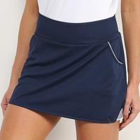 Saia Short Adidas Club Skirt - Feminino-Marinho