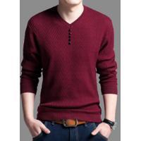 Suéter Básico Masculino Whistler -Vermelho