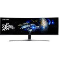 Monitor Gamer Samsung Qled 49´ Super Ultra Ampla Curvo, Full Hd, Hdmi/Display Port, Freesync, 144Hz, 1Ms, Altura Ajustável - Lc49Hg90Dmlxzd