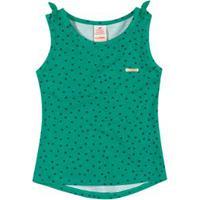 Blusa Regata Marisol Verde Bebê Menina Blusa Regata Marisol Verde Menina