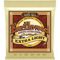 Encordoamento Para Violão Ernie Ball Earthwood 2006 Extra Light