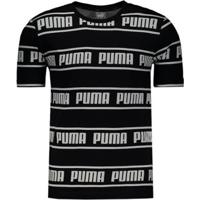 Camiseta Puma Amplified Tee Masculina - Masculino-Preto