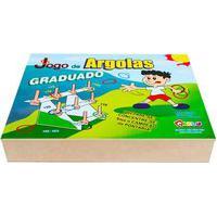 Jogo De Argolas Graduado Carlu Com 31 Peças