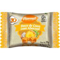 Doce De Coco Com Abacaxi Flormel Zero Adição De Açúcares 20G