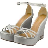 Sandália Barth Shoes Estrela Feminina - Feminino-Prata